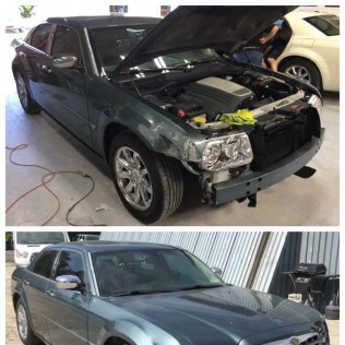 dent removal before and after lexington, sc
