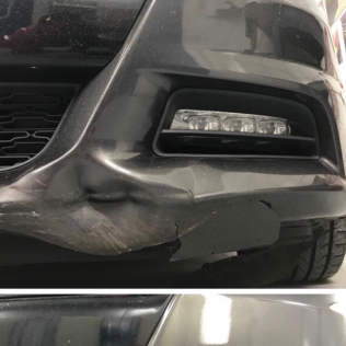 dent repair before and after lexington, sc