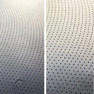 torn upholstery repair before and after lexington, sc